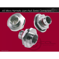 AS Micro Hermetic (Jam-Nut) Series Connectors