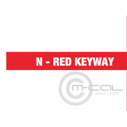Deutsch Autosport AS Co-ax Series 1 Way Shell Size 03 Pin Layout 03-1 Style 6 Free plug Red N Keyway Sockets 50