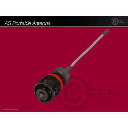 Deutsch Autosport AS Co-ax Portable Antenna 1 Way Shell Size 03 Pin Layout 03-1 Style 6 Free plug Red N Keyway Sockets ANT21