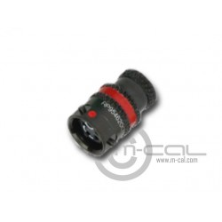 MoTeC Autosport ASL MicroLITE HE Connector 5 Way Shell Size 06 Pin Layout 06-05 Style 1 Inline Receptacle Red N Keyway Sockets Standard