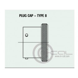 Deutsch Autosport AS Connector Pro Cap Series Shell Size 07 Style 8 Pro Cap For Plug All Keyways Standard