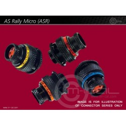 Deutsch Autosport ASR Rally Micro Connector 5 Way Shell Size 06 Pin Layout 06-05 Style 6 Free plug Grey E Keyway Sockets Standard