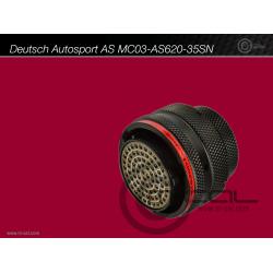 MoTeC Autosport Connector 79 way Autosport ADL2 Connector (AS620-35SN) (ADL3, C185, C187, C1812)