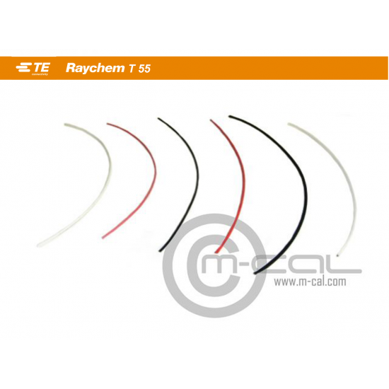 MC06-355A0111-24-2 - Type 55 Raychem Cable Single Core24awg Red