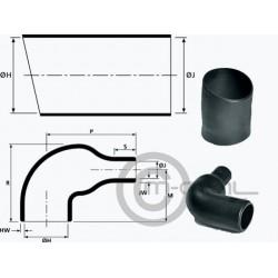 Hellermann Heat Shrink Boot 90deg for ASL Shell 06 & AS Comp