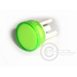MoTeC Pushbutton Switch Lenses for 12mm button (Green)