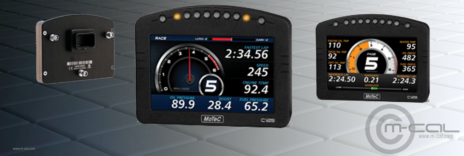 MoTeC Dash Displays & Data Logging